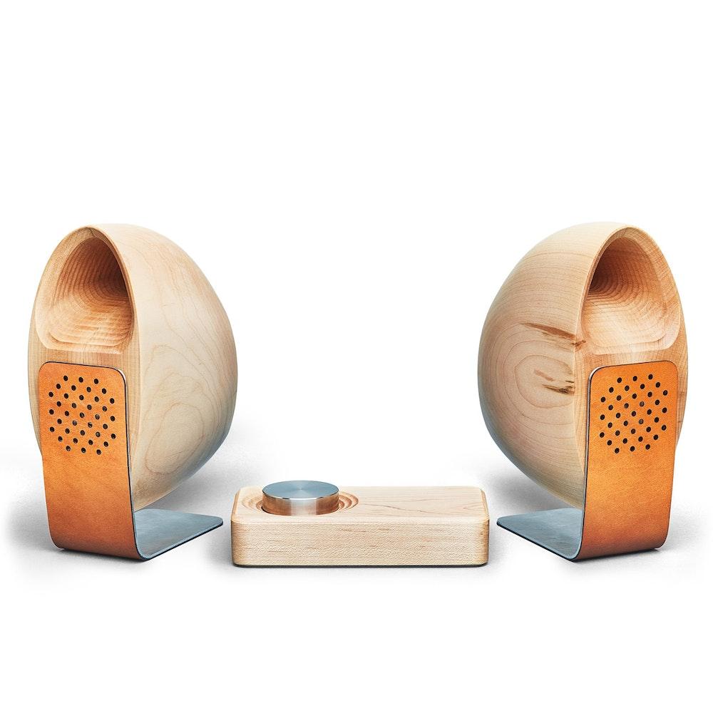 Maple Speakers & Amp